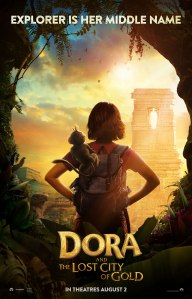 Dora the Explorer and the lost city of gold poster